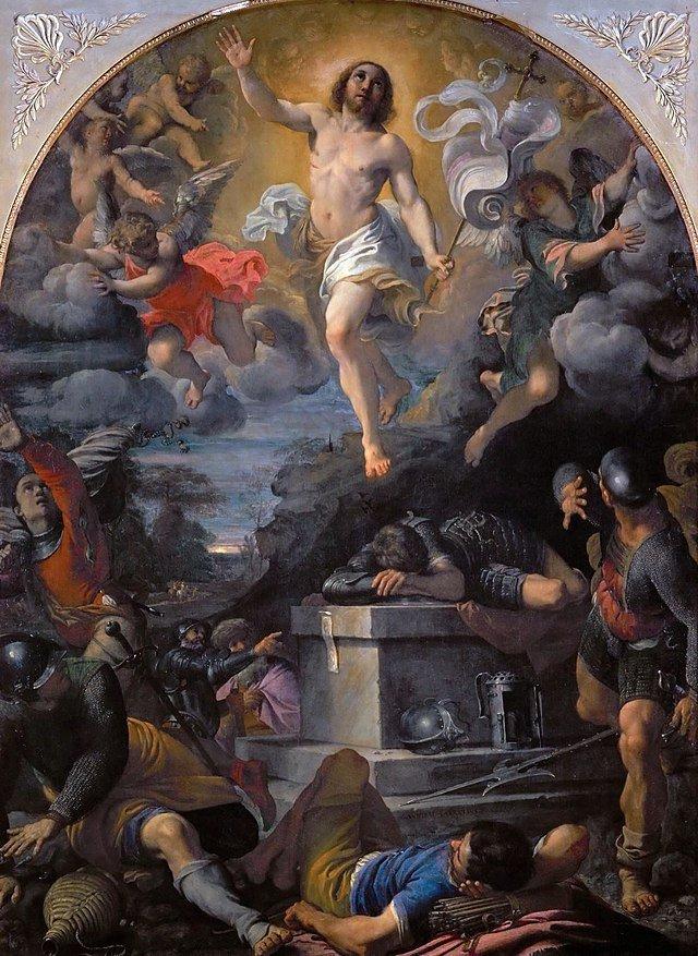 Annibale Carracci Resurrezione
